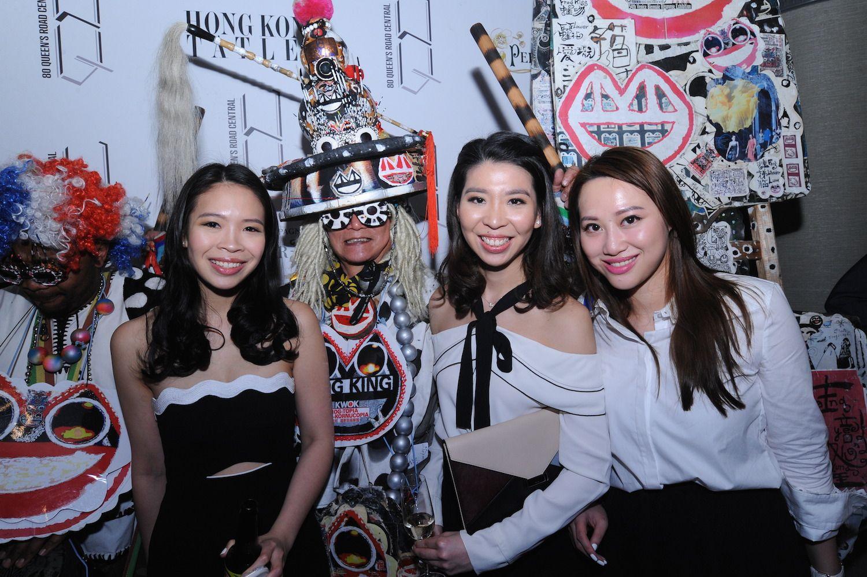 Vickie Li, FrogKing, Kristine Li and Josephine Chiu