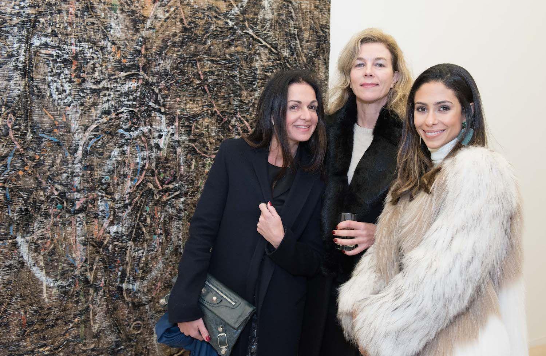 Daphne Neiman, Marleen Molenaar and Virginia Weinberg