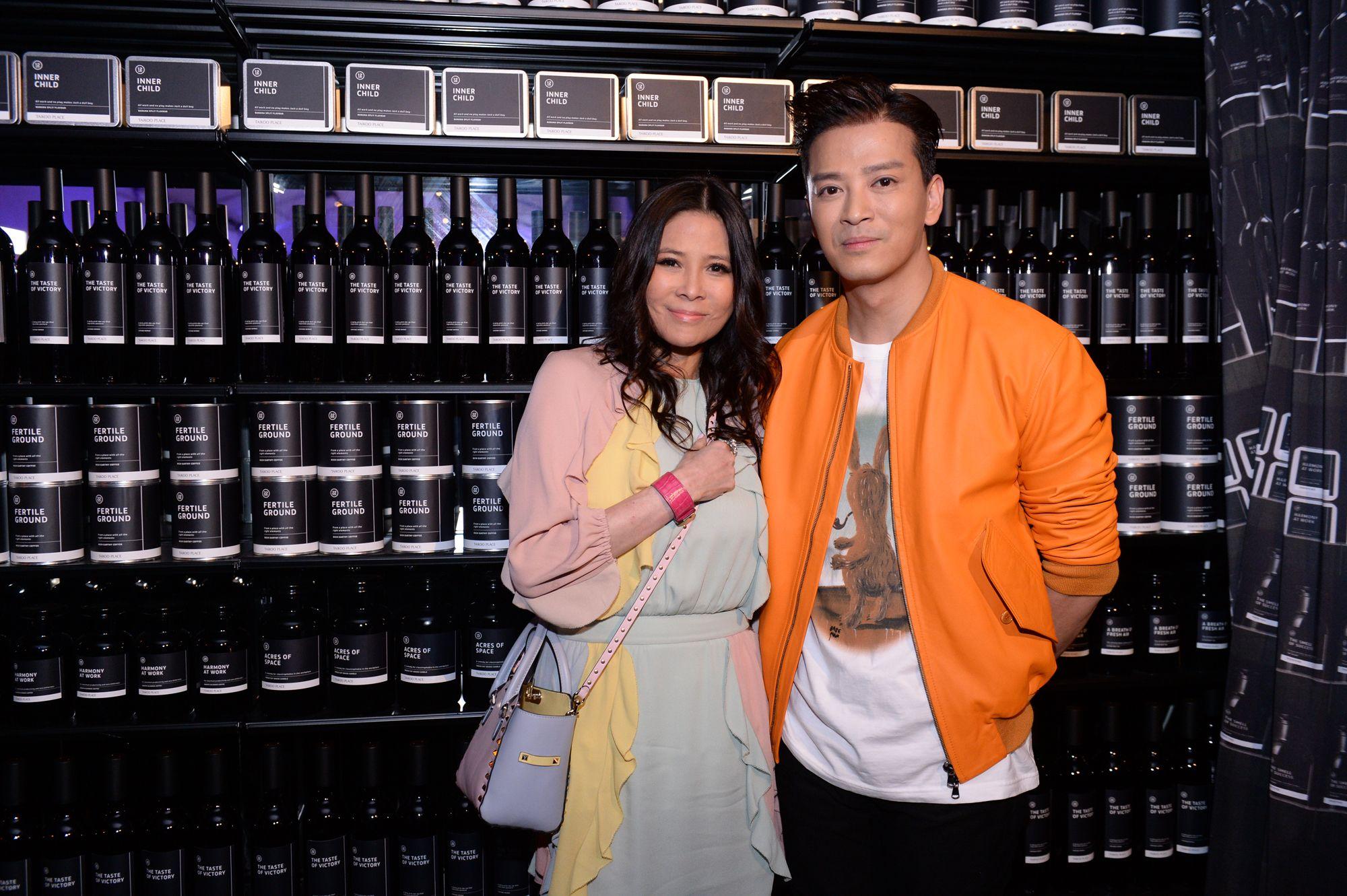 Yvette Yung and Daniel Chan