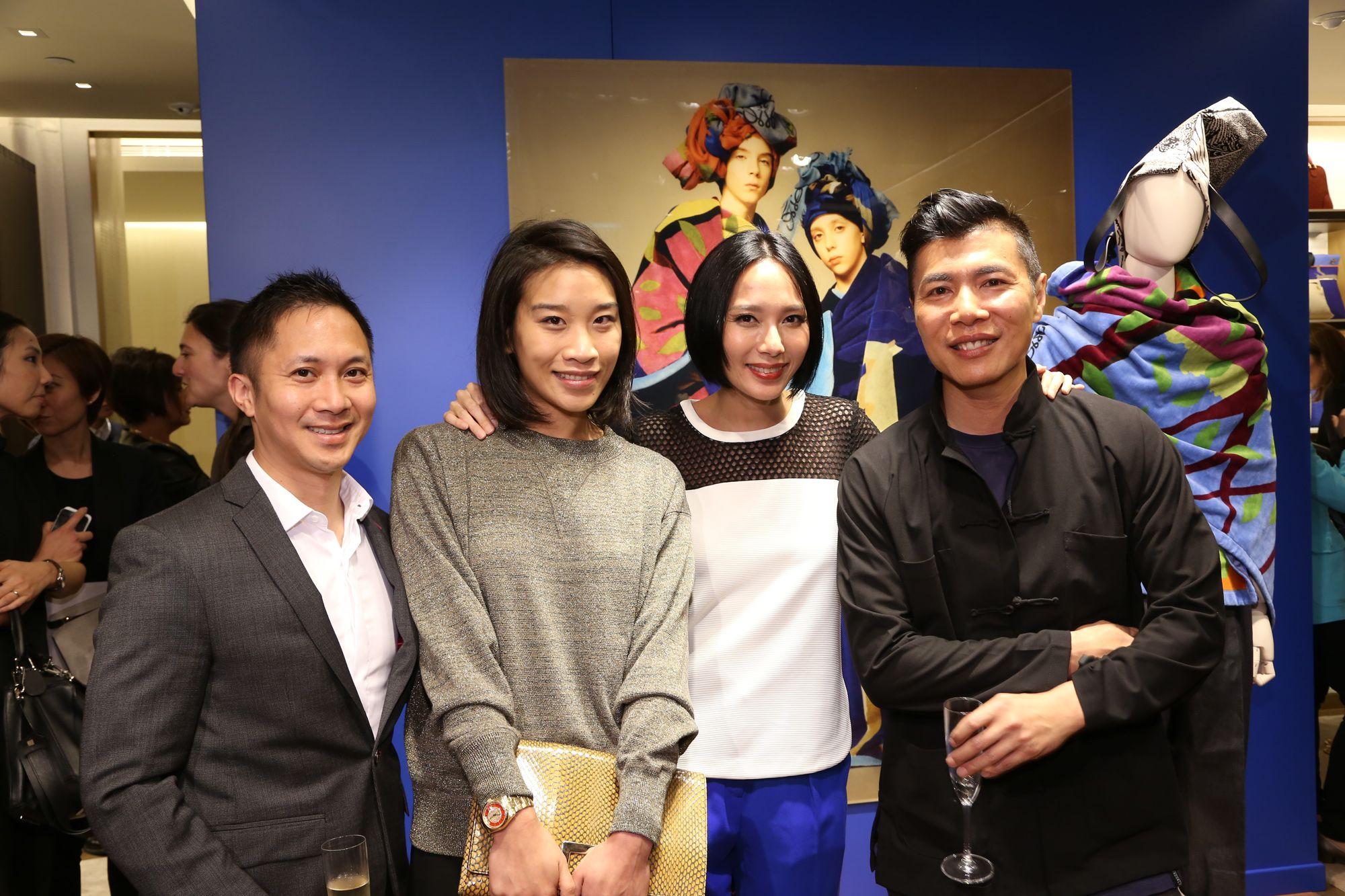 Jehan Chu, Dee Poon, Jaime Ku, and Douglas Young