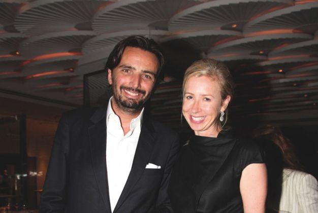 Benjamin Vuchot and Claire Keswick