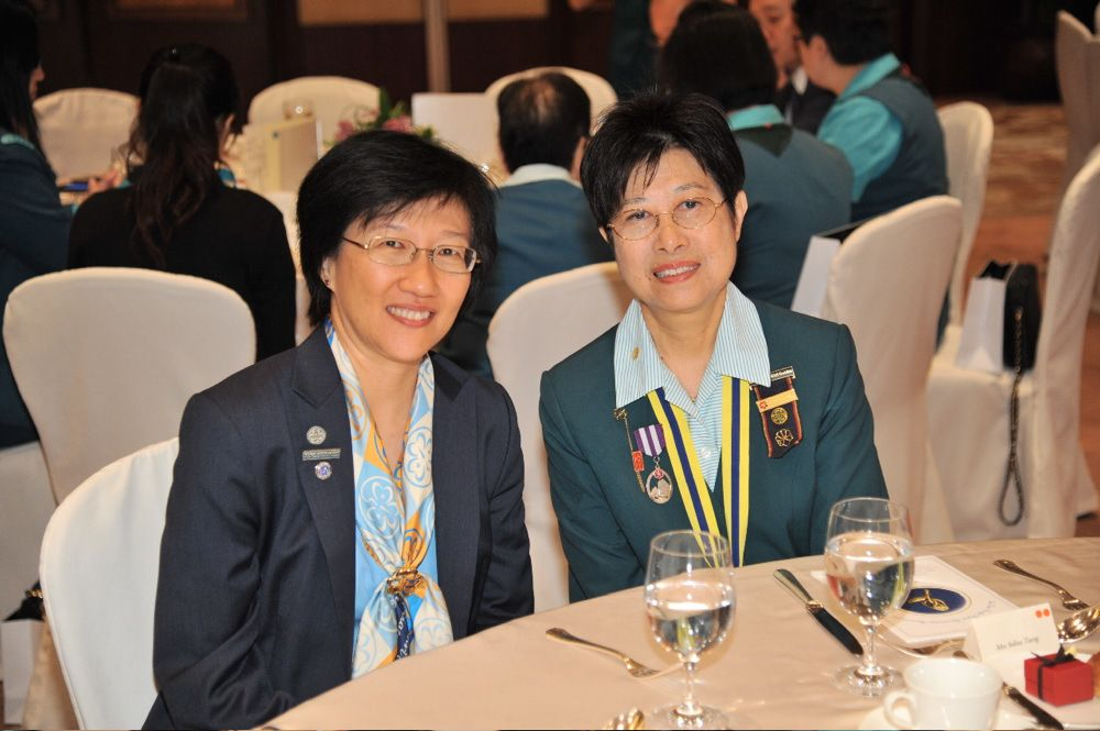 Loh Lih Jeng and Selina Tsang