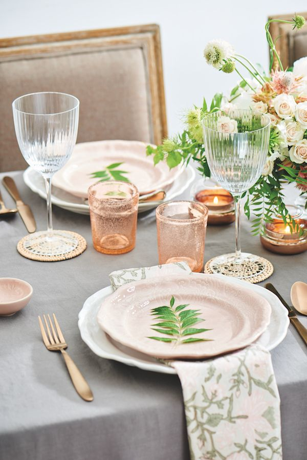 3 Gorgeous Table Settings For Your Wedding