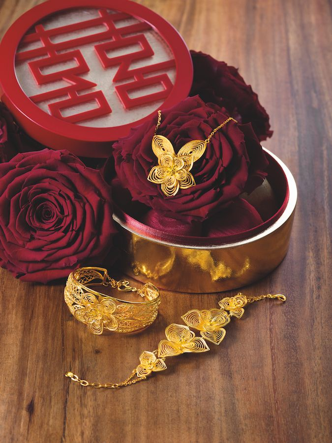 Red & Gold: What You Need To Know About Chinese Wedding Jewellery