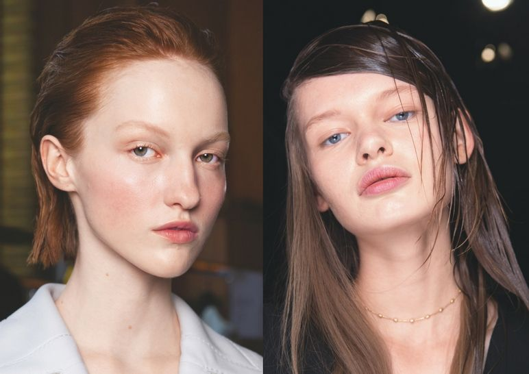 Wet Hair, Don't Care: How To Master The Slick Hairstyle