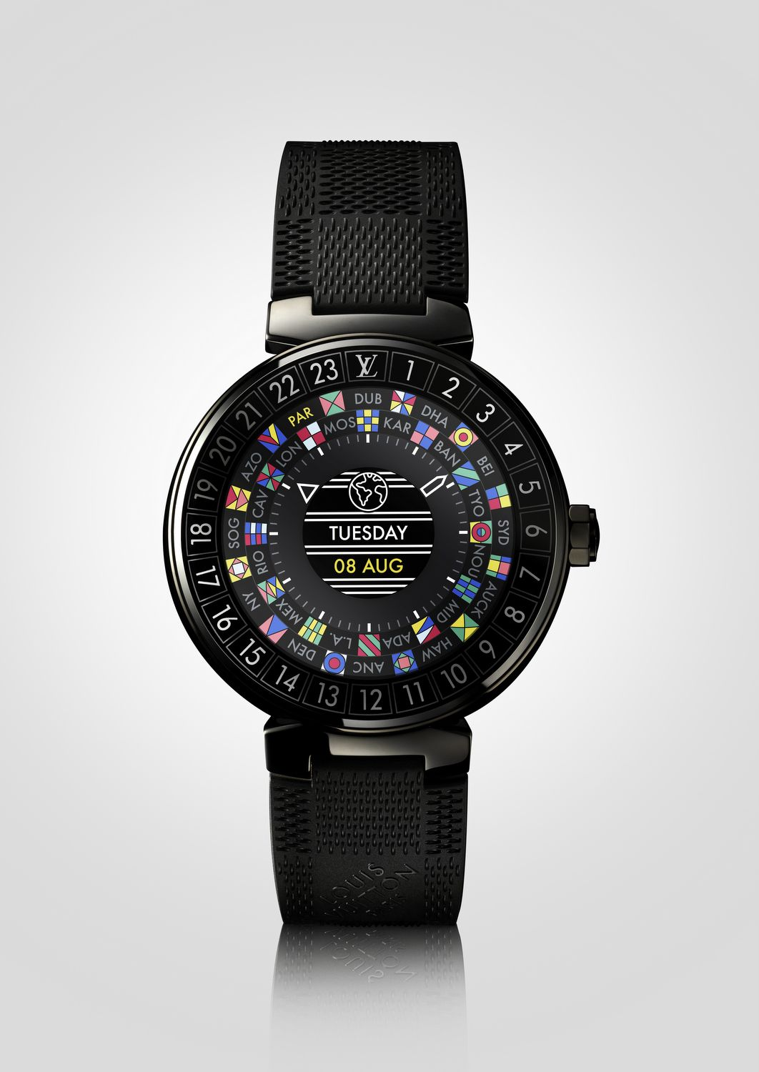 5 Things To Know About The Louis Vuitton Tambour Horizon Watch