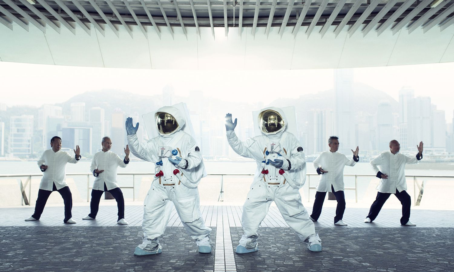 Astronauts Spotted In Hong Kong for Operation Omega