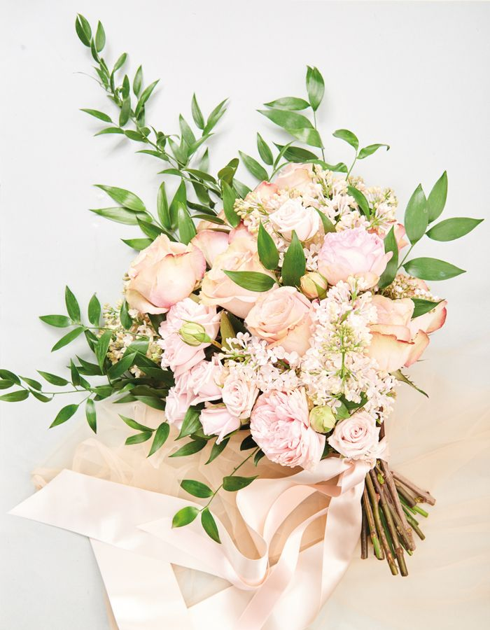 4 Rosy Bridal Bouquets For Your Big Day