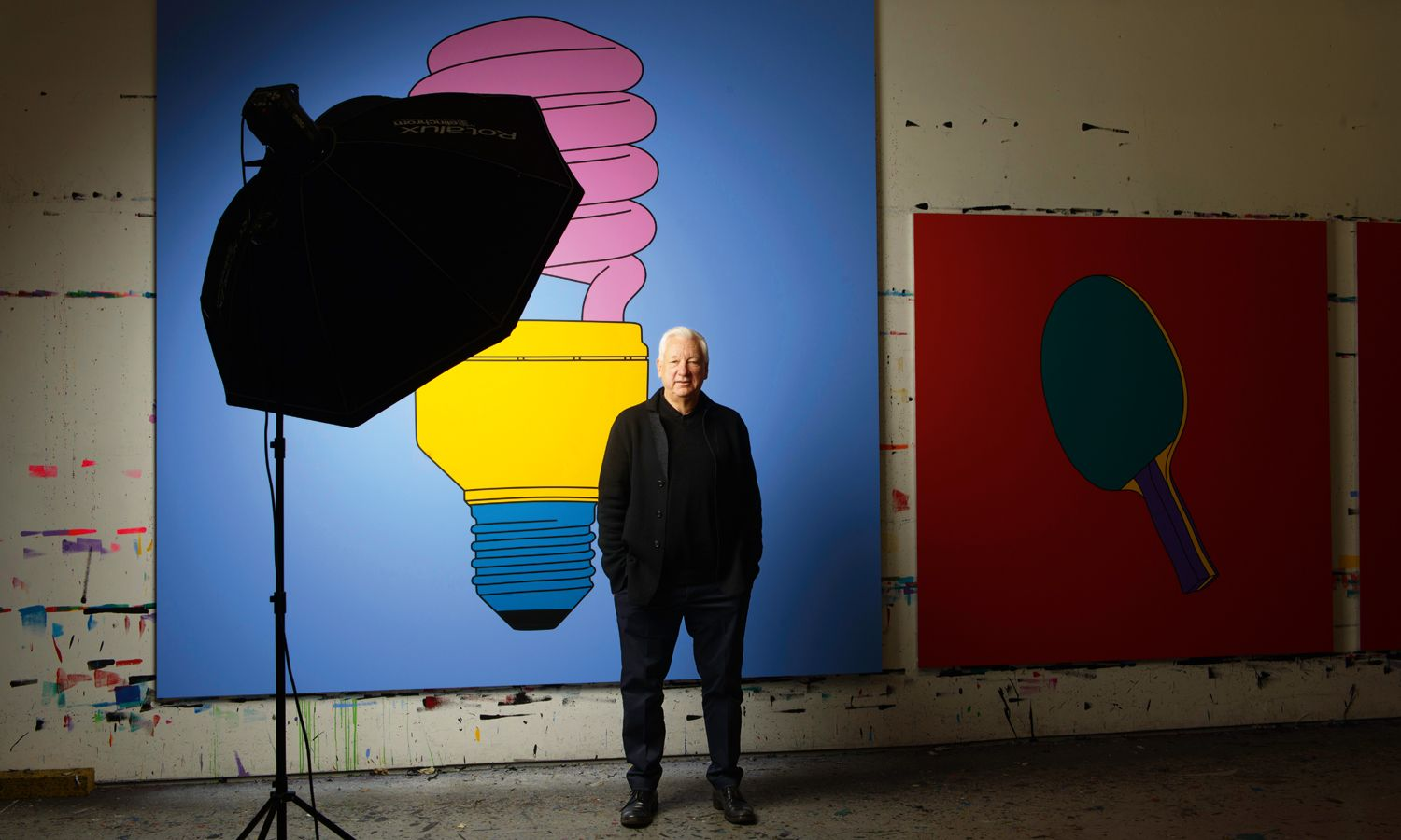 5 Bright Ideas From Michael Craig-Martin