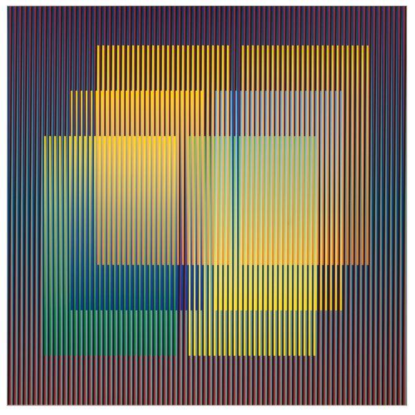Art Talk: Carlos Cruz-Diez On The Magic Of Colour