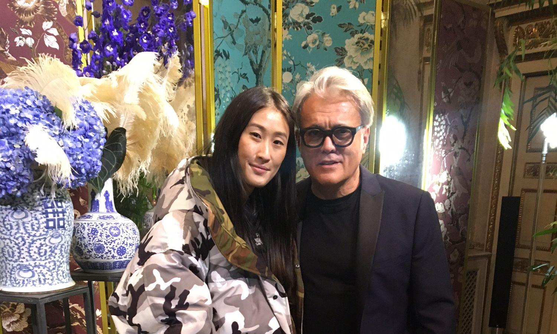 Milan Fashion Week Highlights: Liu Wen & Giuseppe Zanotti
