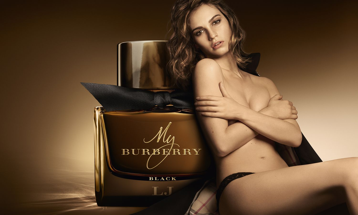 Burberry Takes A Sensuous Turn with My Burberry Black