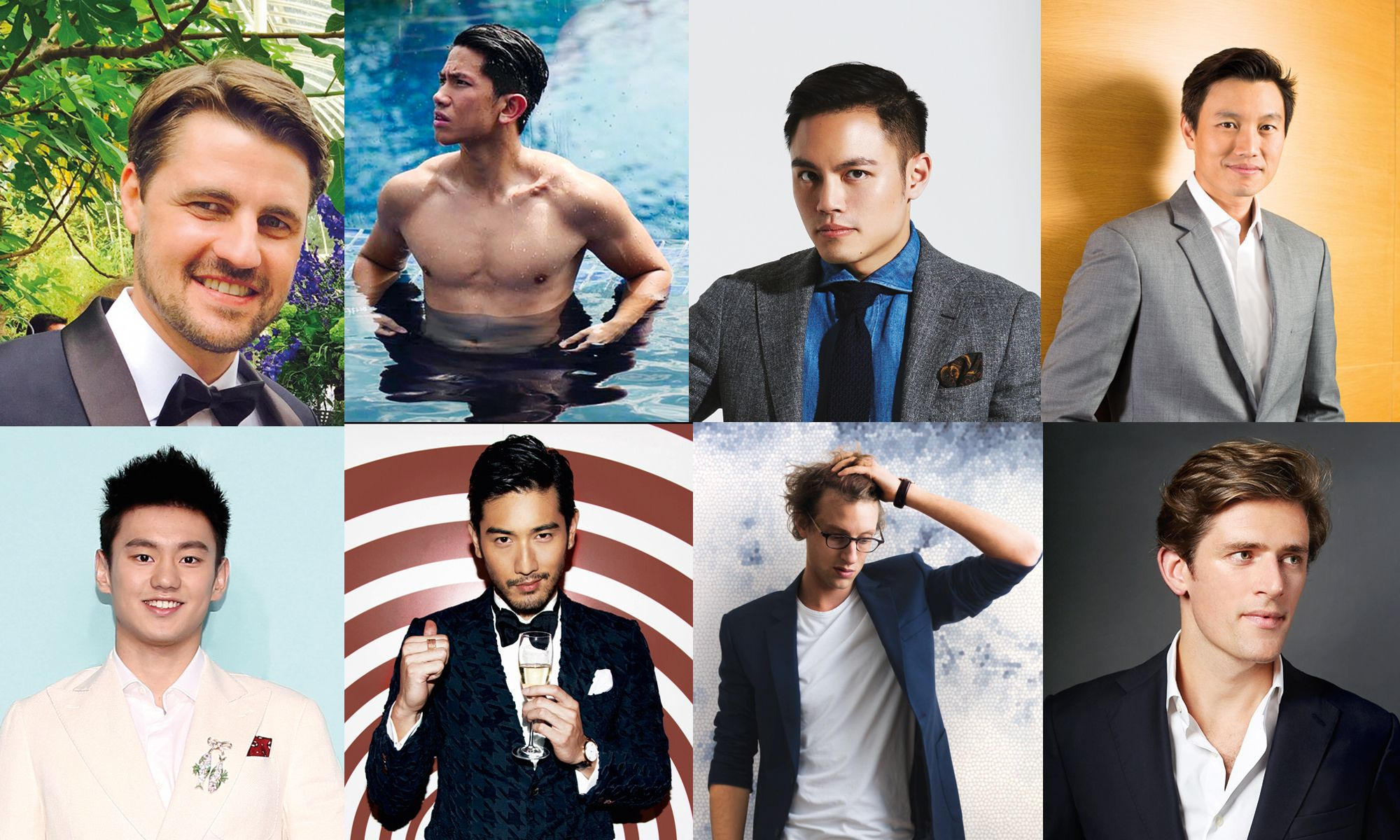 Meet Asia's 50 Most Eligible Bachelors