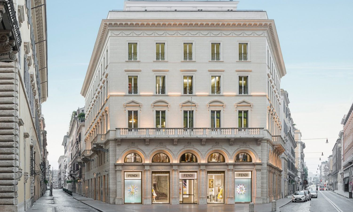 An Insider's Look at the Recently Revamped Palazzo Fendi