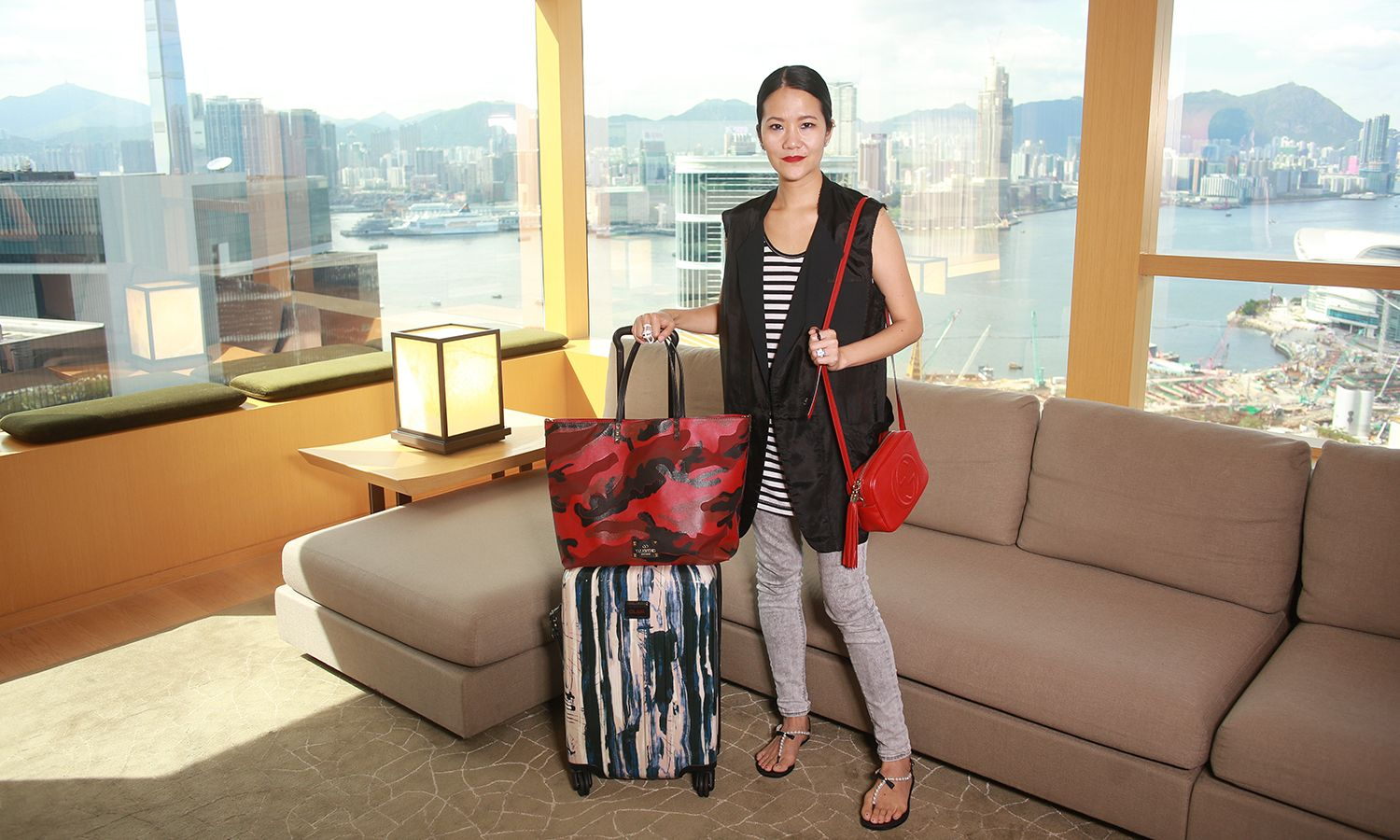 How Fashion Stylist Grace Lam Packs for a Girls' Trip