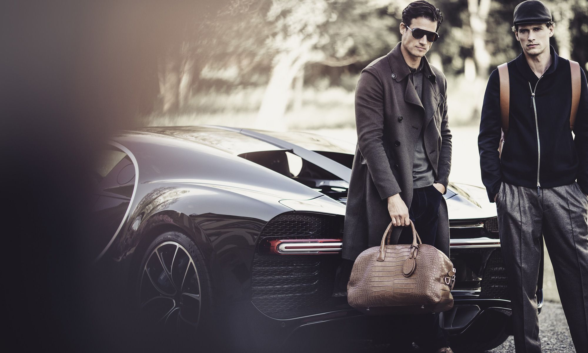 Giorgio Armani Creates Clothing and Accessories Line for Bugatti
