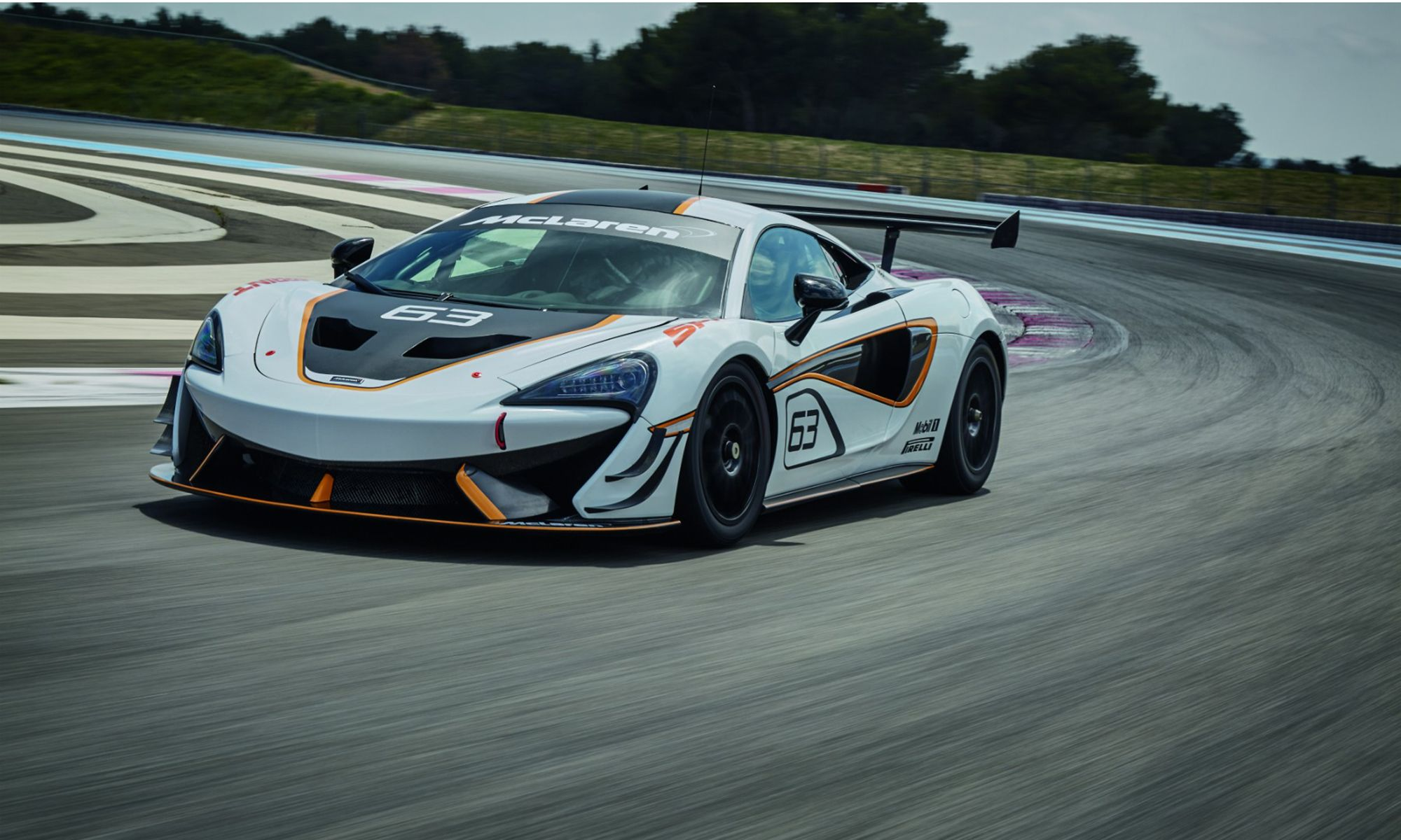 The McLaren 507 S Sprint Races into View