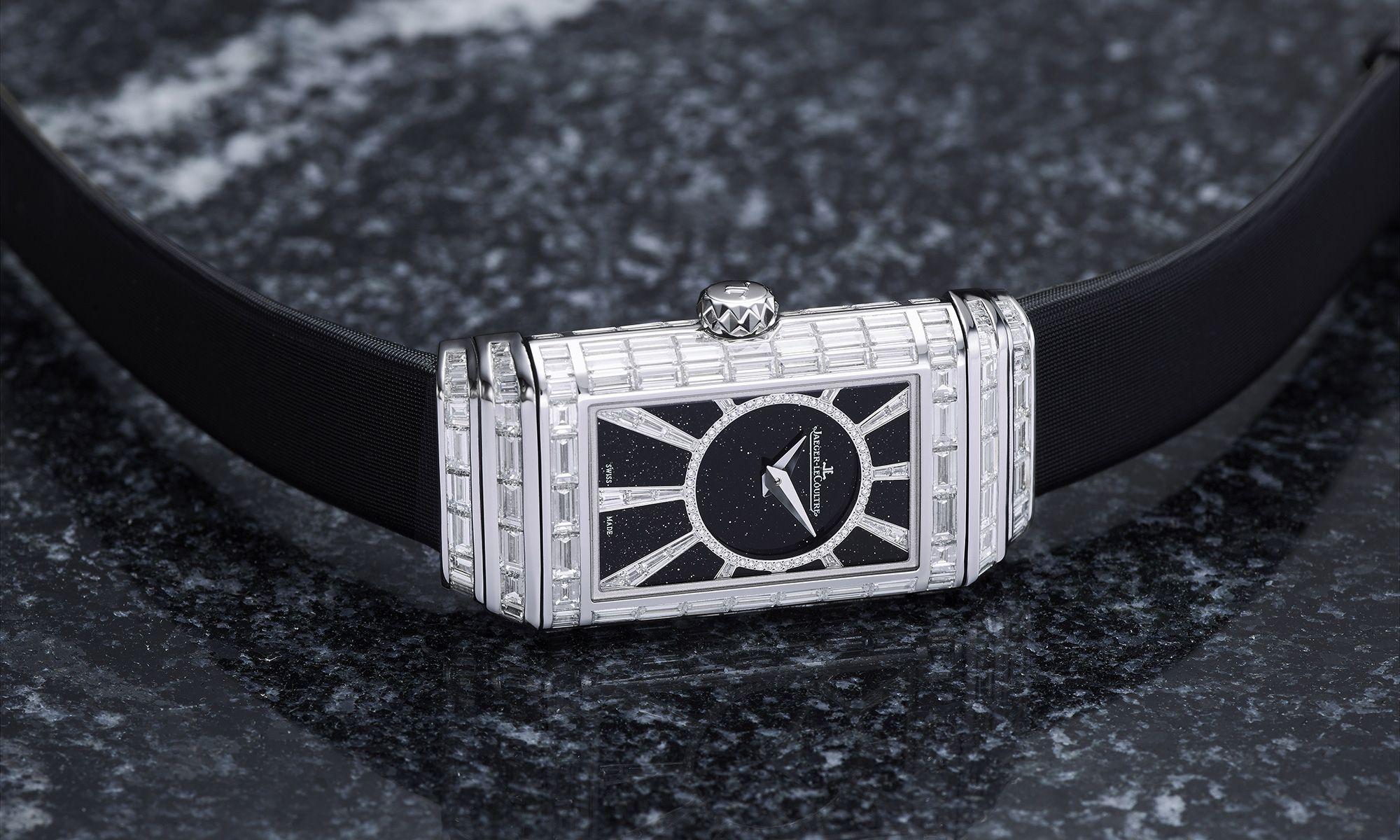 Jaeger-LeCoultre Unveils Diamond-Clad 'Reverso'