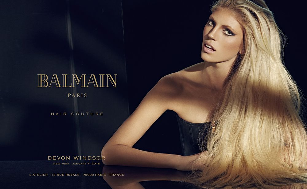 Balmain Leads the Couture Wig Revival Trend with New Custom-Made Service