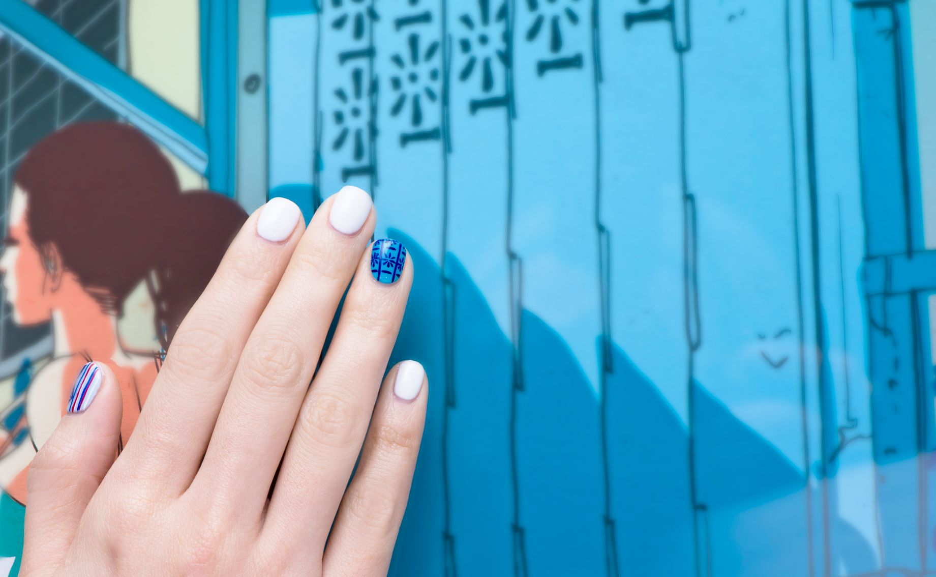 3 Unique Art-Inspired Manicure Ideas for Art Week