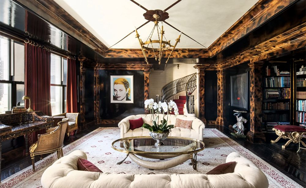 Take a Peek Inside Tommy Hilfiger's Exquisite Home at The Plaza Hotel