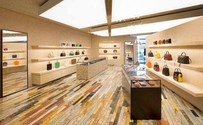 Céline Unveils Their New Concept Store at IFC