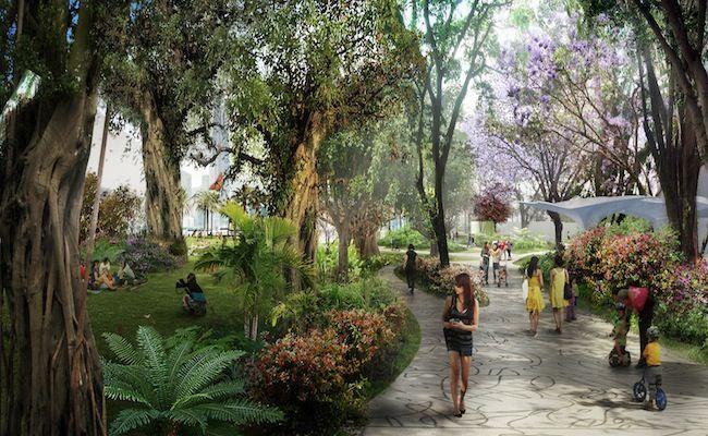 West Kowloon Cultural District Authority Unveils Park Concept Design