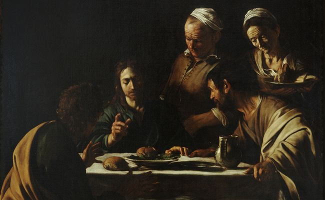 The Supper at Emmaus by Caravaggio in Hong Kong