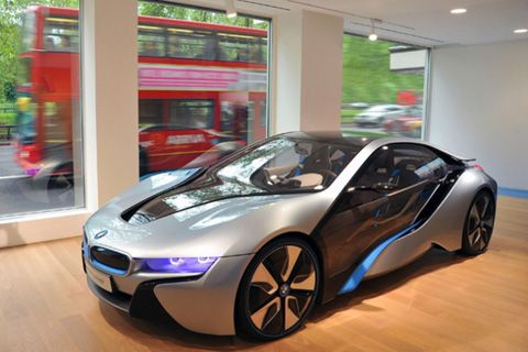 Bmw Electric Concepts On Show In London Hong Kong Tatler