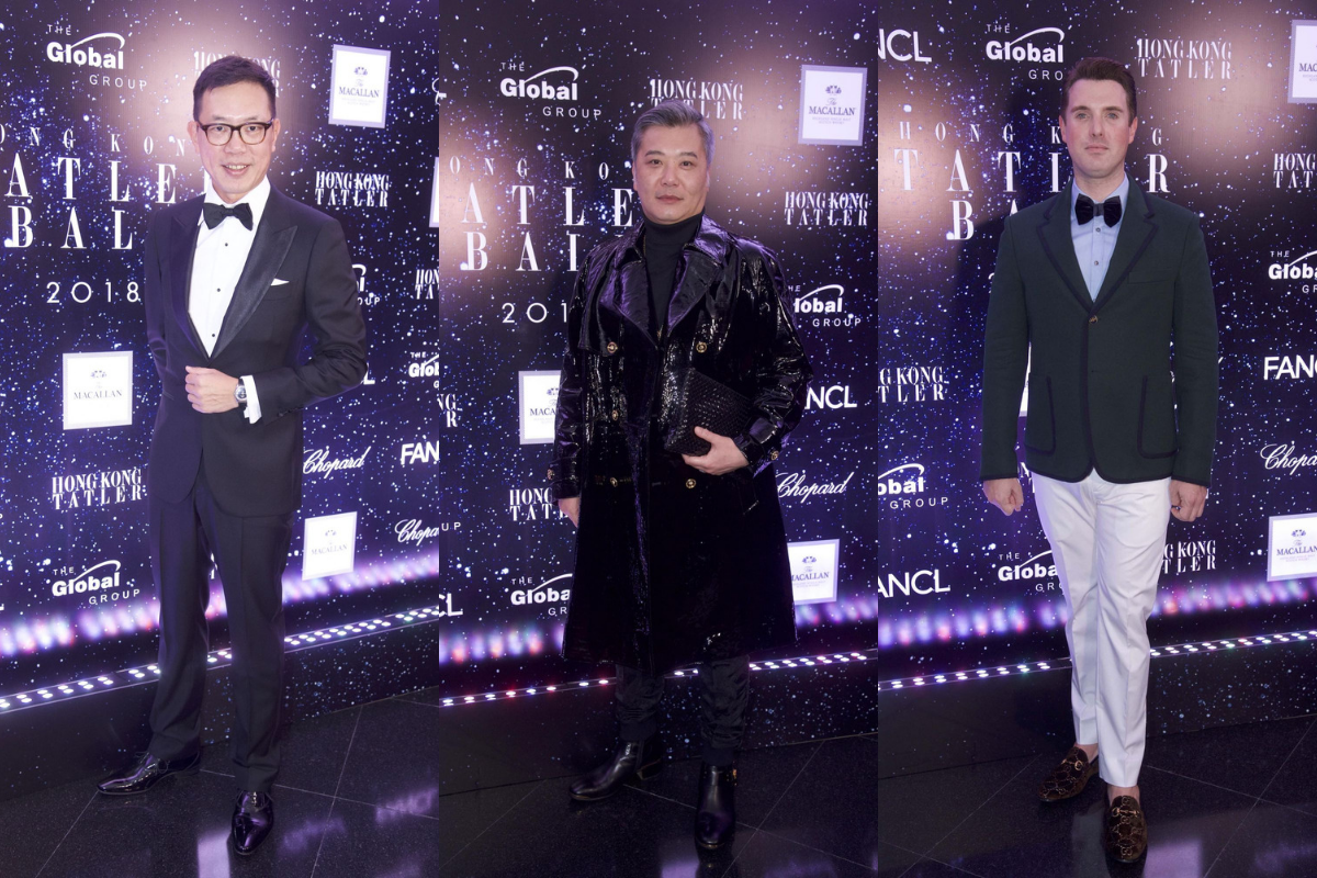 Hong Kong Tatler Ball 2018: Best Dressed Men