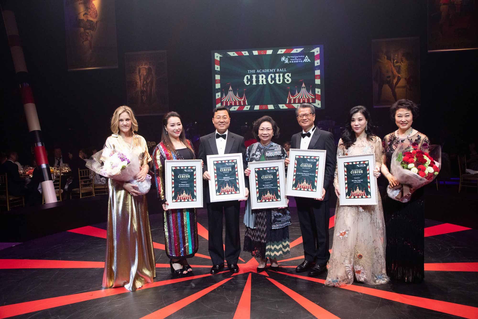 Alison Lusher, Winnie Chiu, Xie Feng, Regina Leung, Paul Chan, May Lui, Sophia Kao-Lo