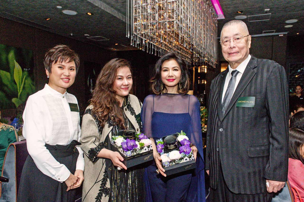Fion Ipp, Samantha Sun, Cherie Chung, Liu Shikun