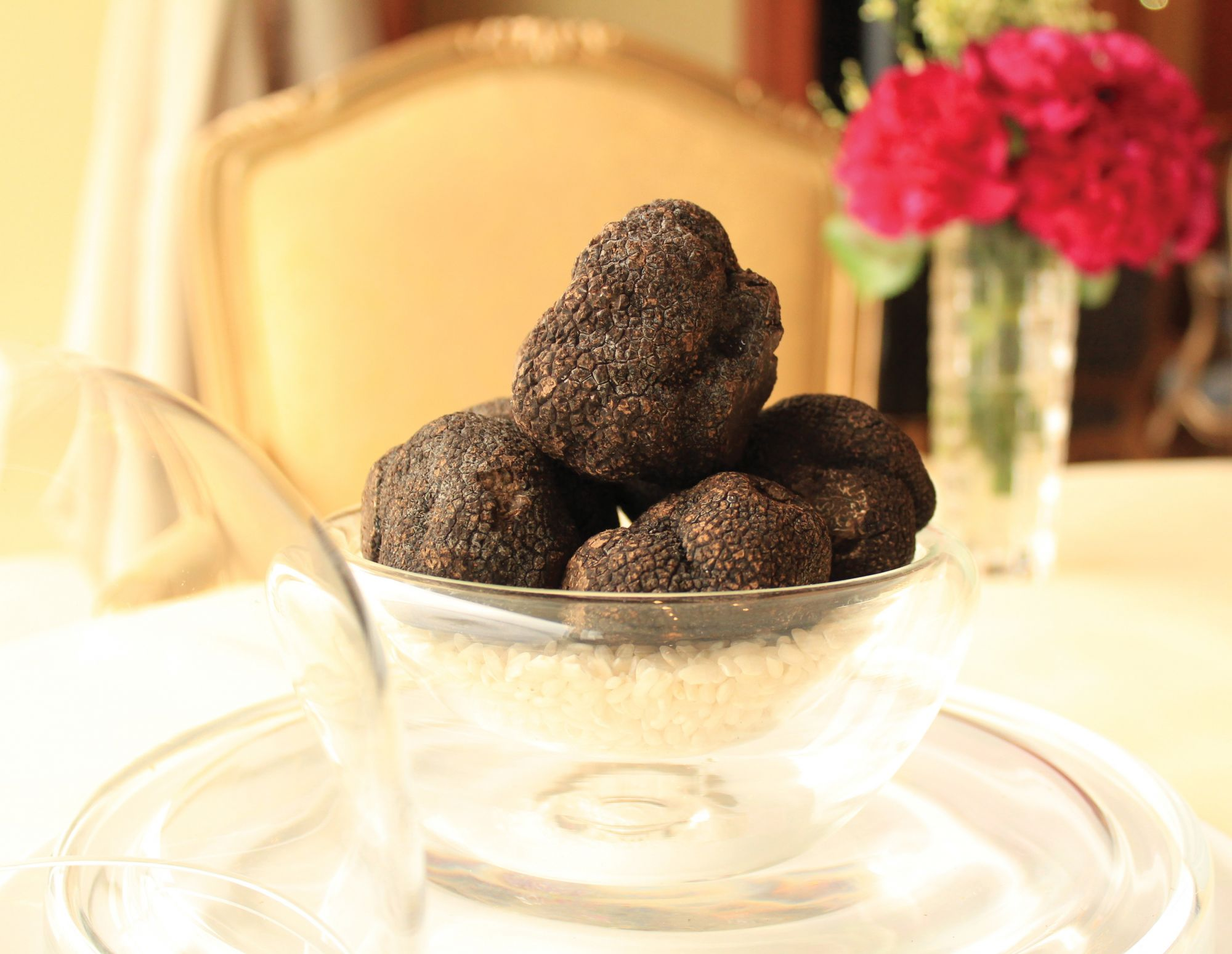 French Black Winter Truffles At Petrus