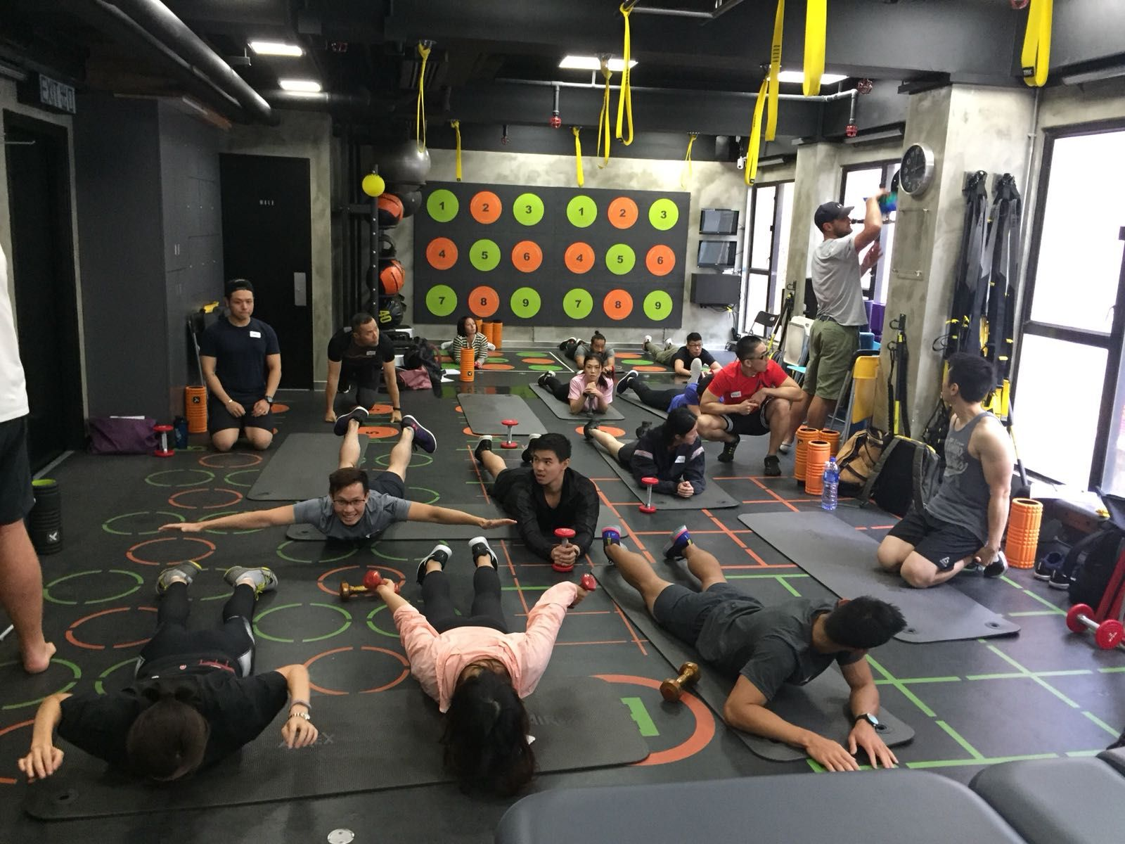 Swap Lunch For Sweat 10 Best Fitness Classes Under One Hour Hong Circuit Training Without Weights Photo Courtesy Of Optimum Performance Studio