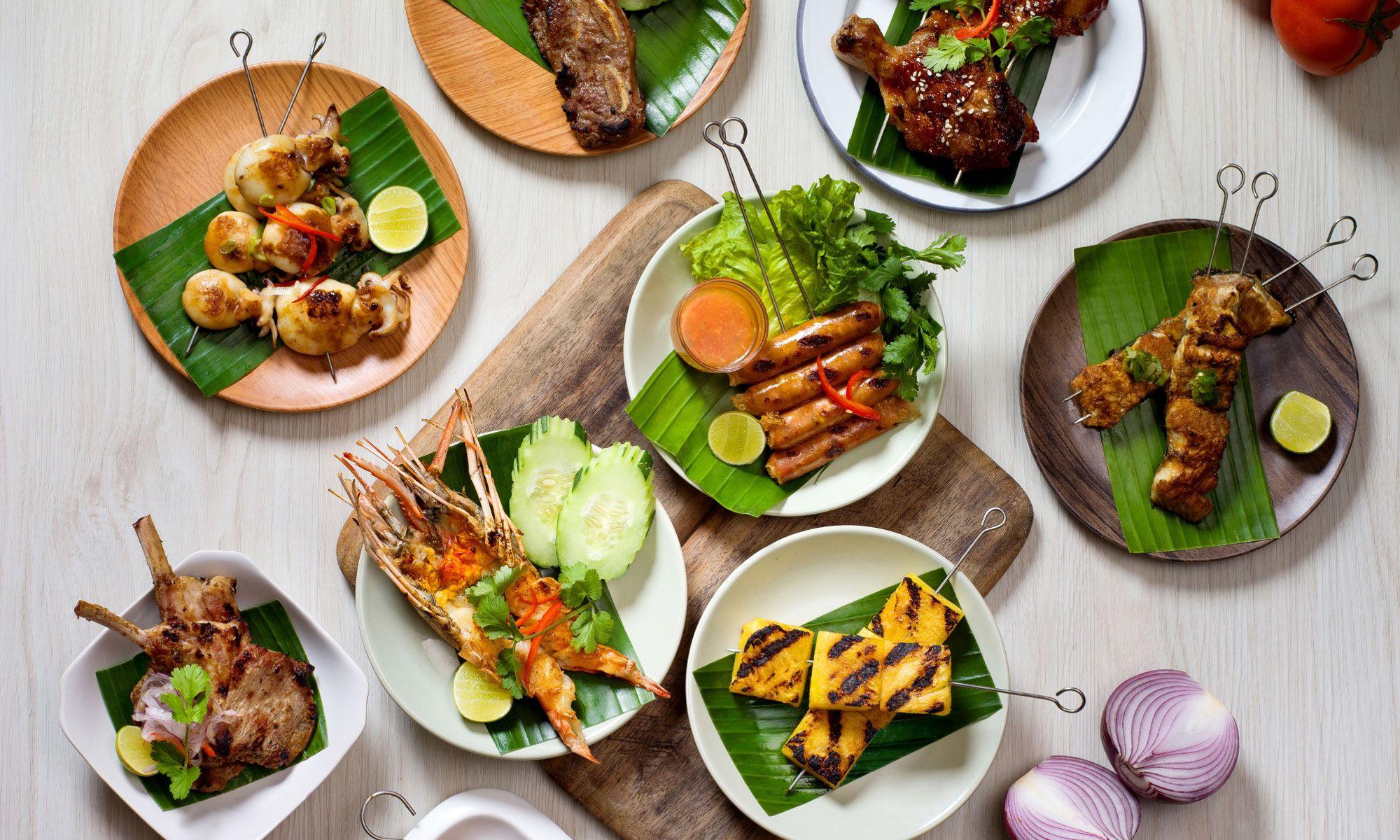 Thai Grill Party At Mango Tree Café