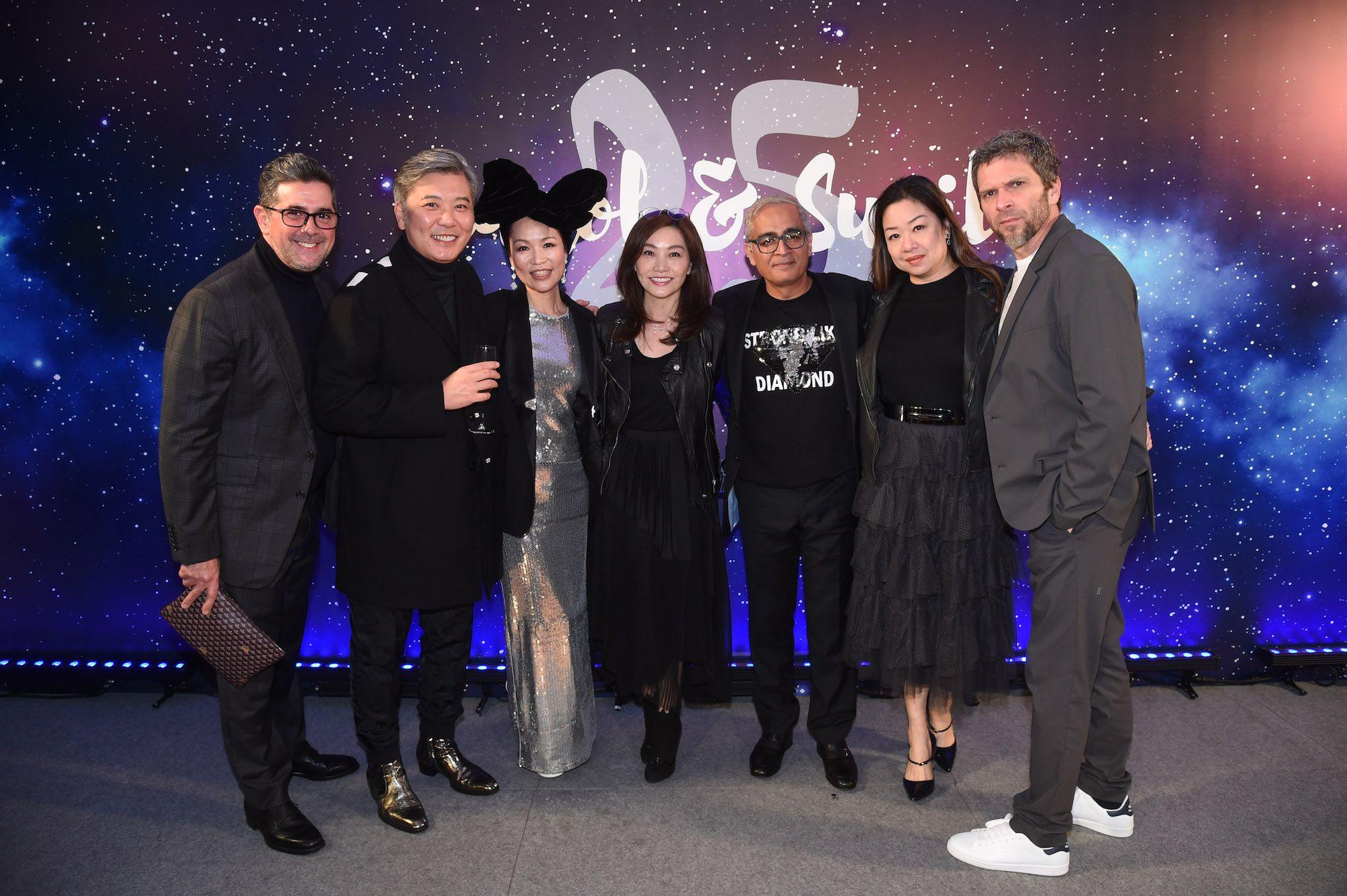 Francisco Anton-Serrano, Peter Cheung, Carol Chugani, Laetitia Yu, Sunil Chugani, Candice Suen-Sieber and Kape Sieber