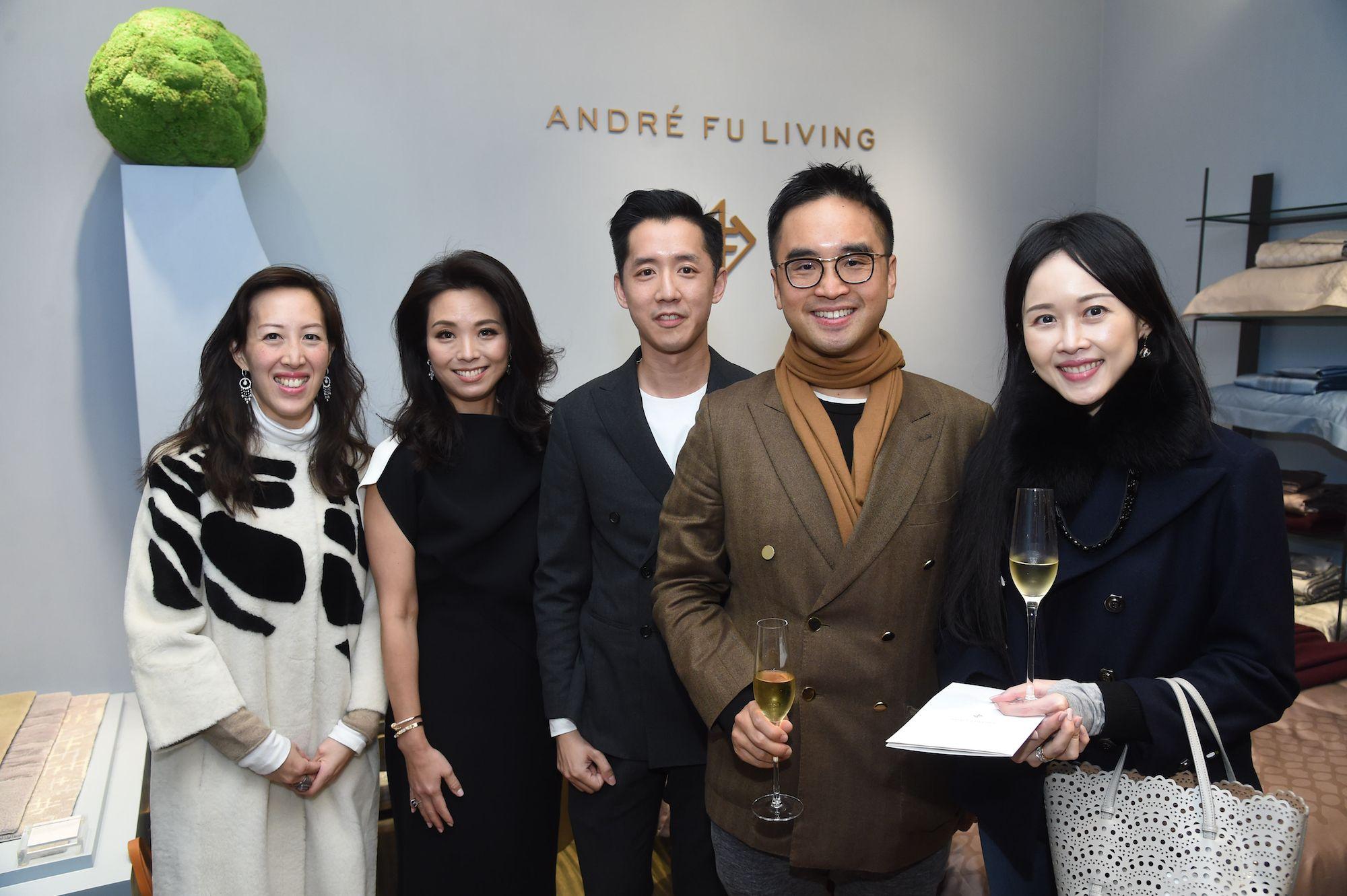 Nikki Ng, Anne Wang-Liu, André Fu, Adrian Cheng, Jacqueline Chow