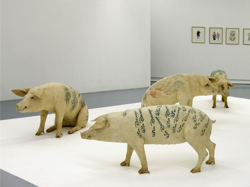5 Famous Pigs That Are Works Of Art