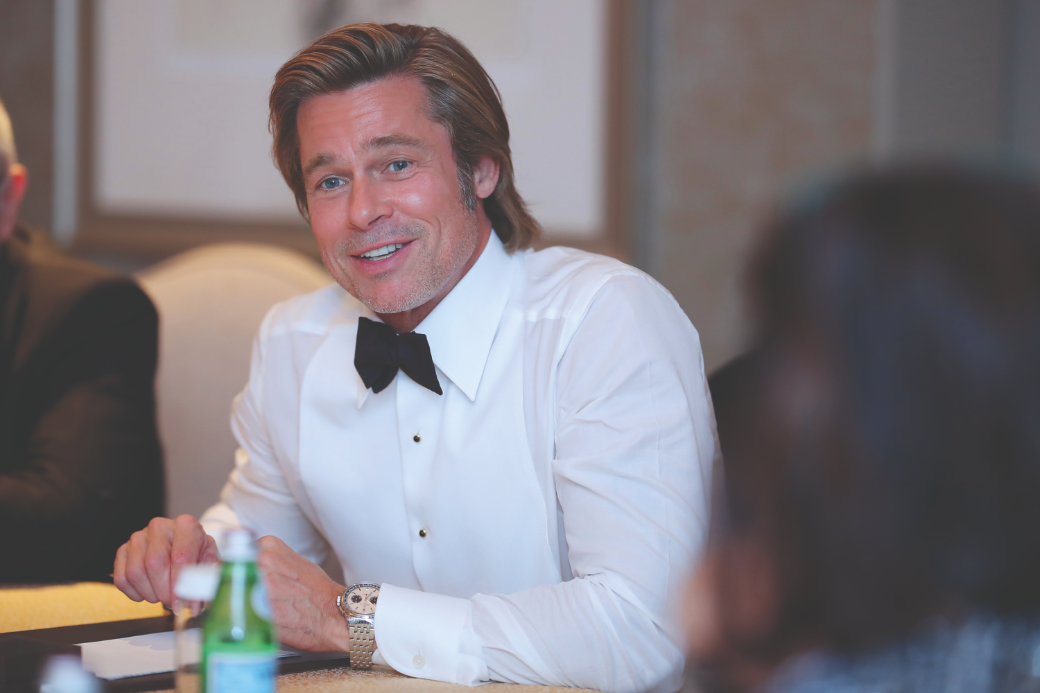 Meeting Brad Pitt From Breitling's Cinema Squad In Beijing