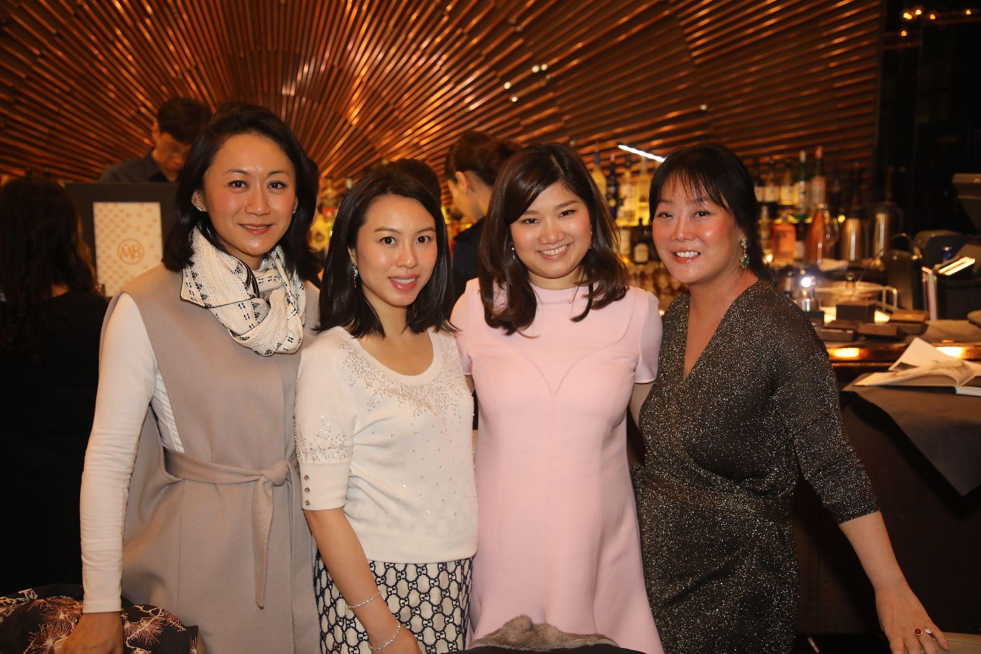 Joanne Chan, Wendy Law, Carmen Choi, Jennifer Liu