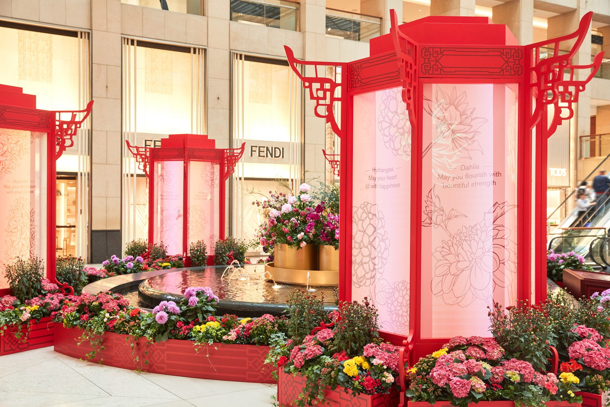 Landmark Rings In Chinese New Year With The Prosperity Playground
