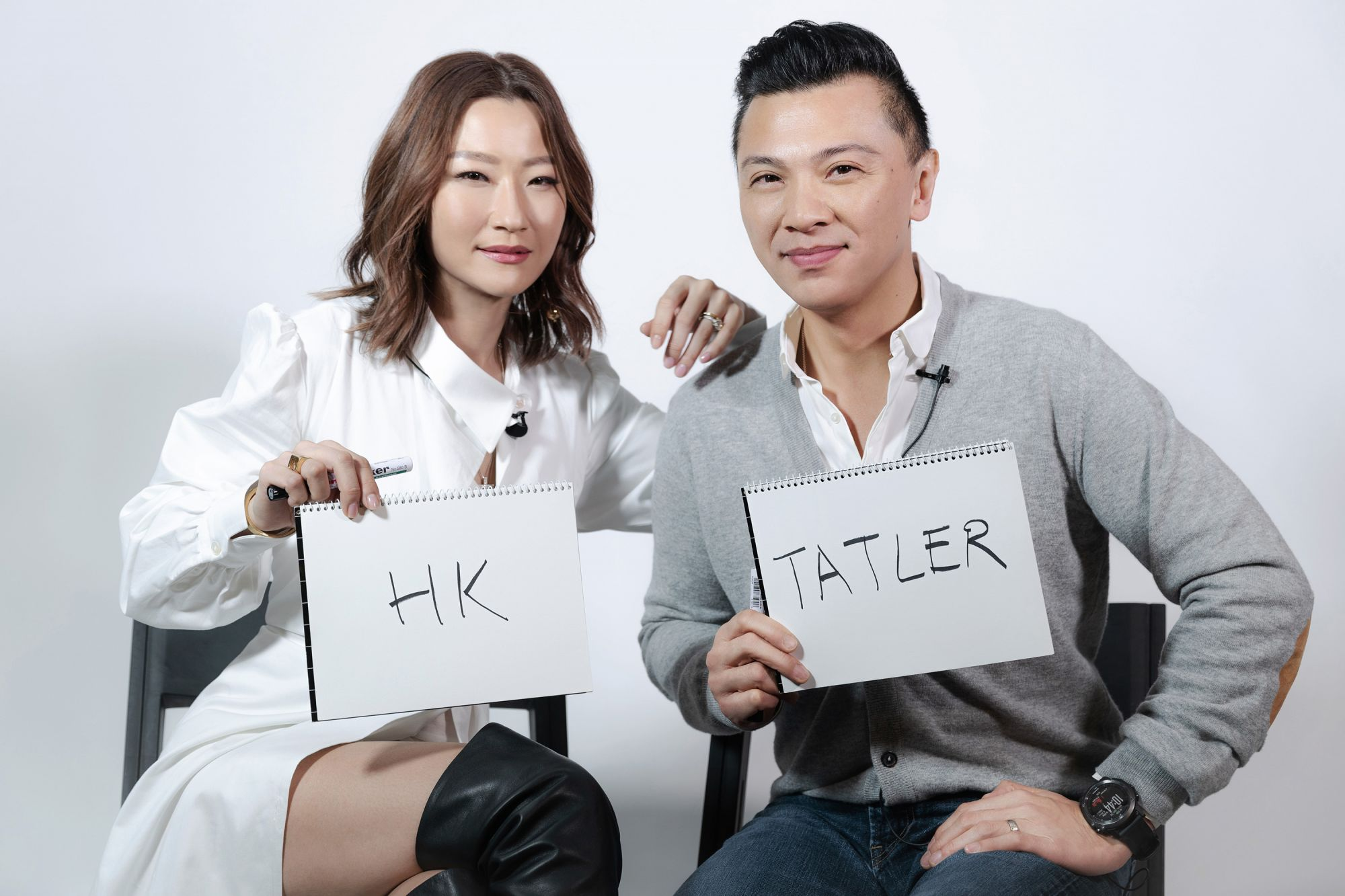 Tatler Couples' Challenge: Esther Sham And Sunny Tan