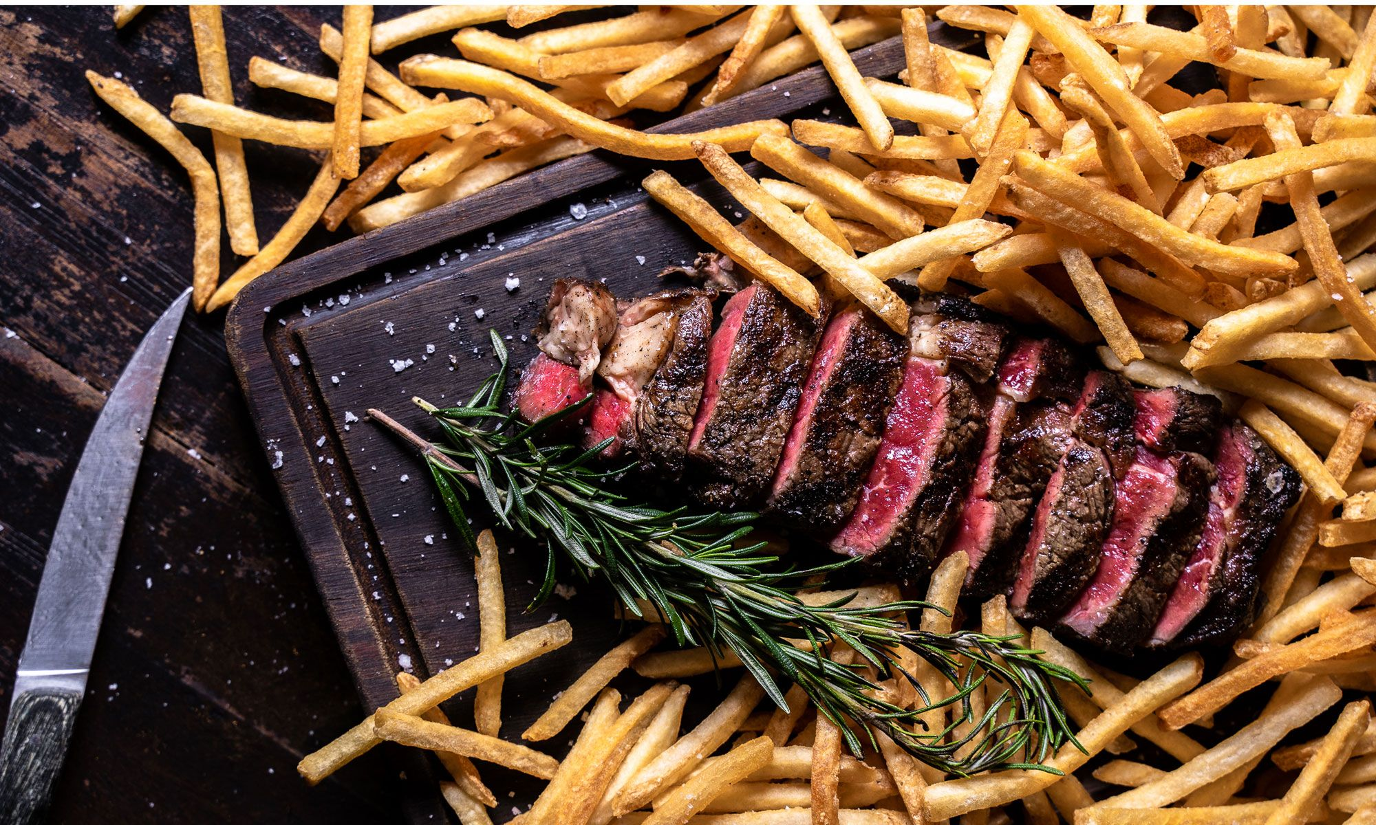 Blue Presents New Butcher's Cut Bespoke Steaks With Unlimited French Fries