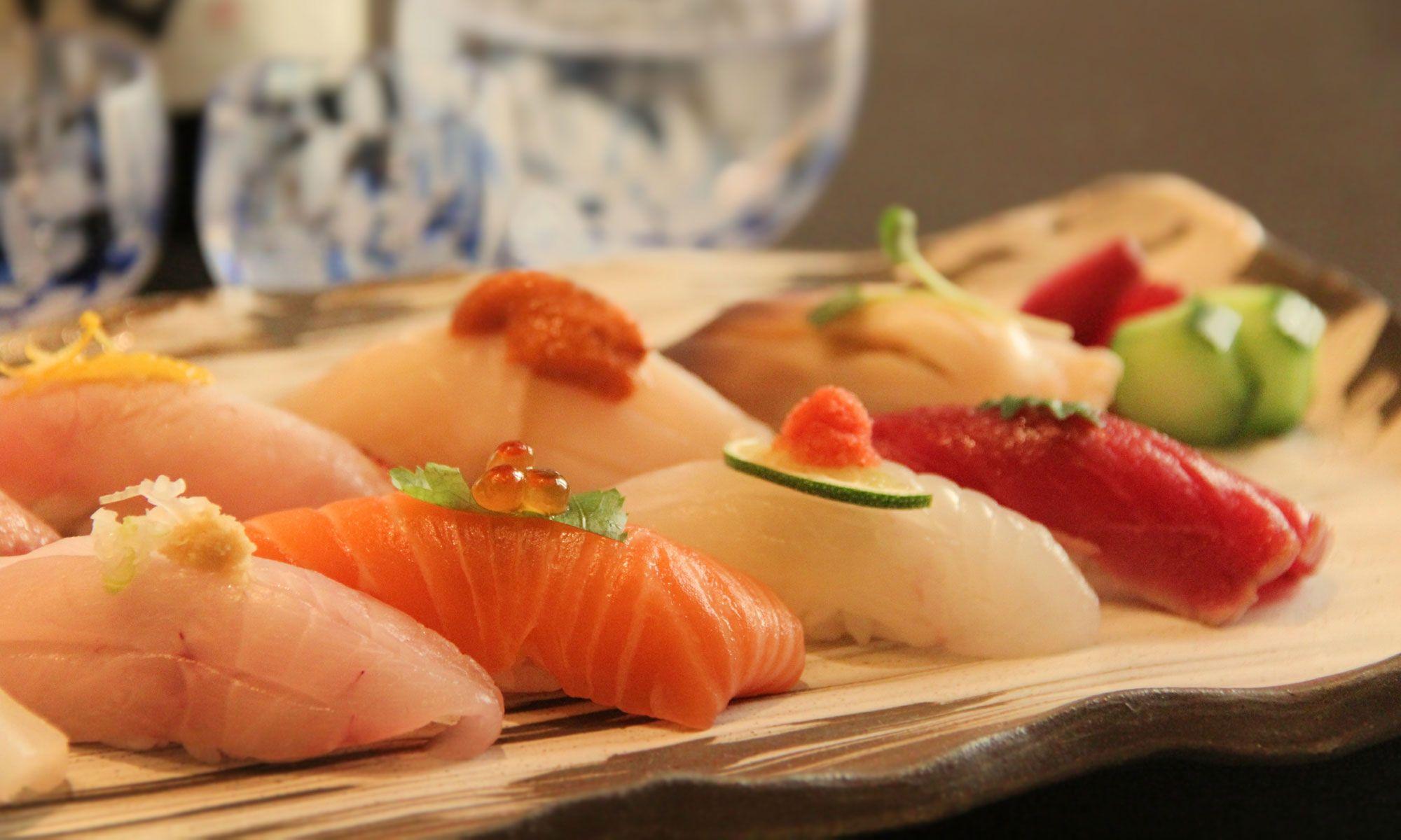 Nigiri Sushi Lunch At Yamazato