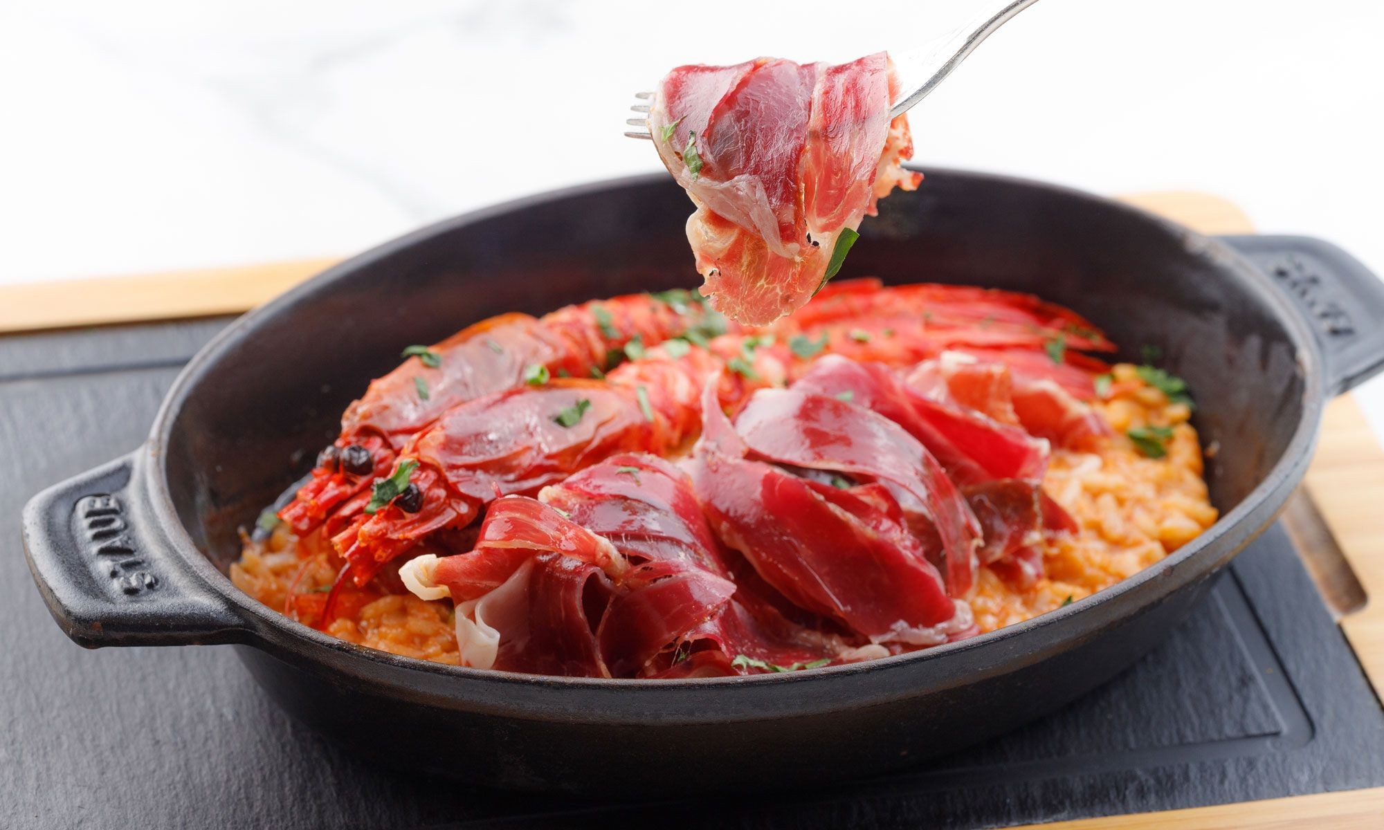 Joselito Ham At Lobster Bar & Grill