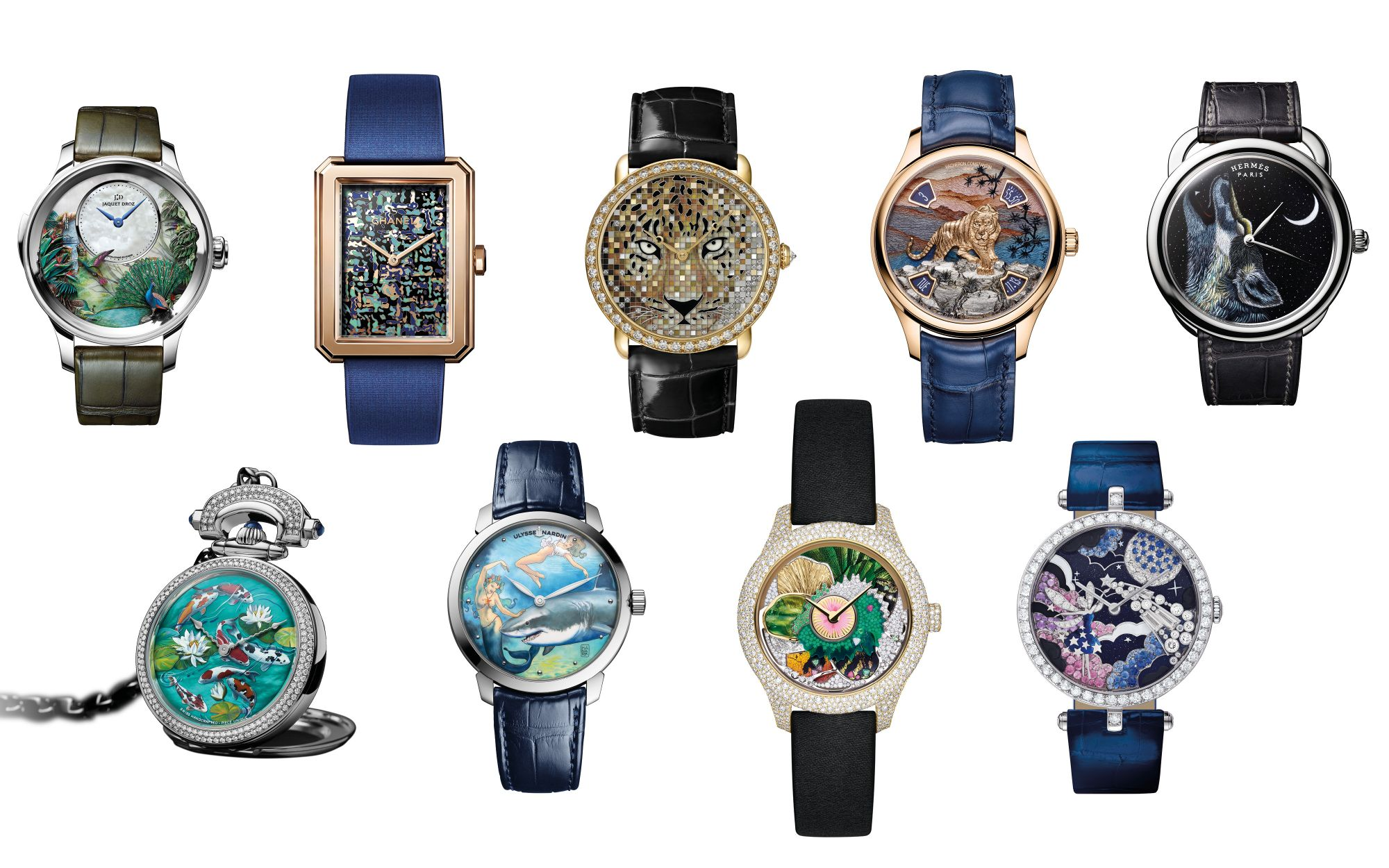 Perfect Palette: 9 Watches With Dials That Are Works Of Art