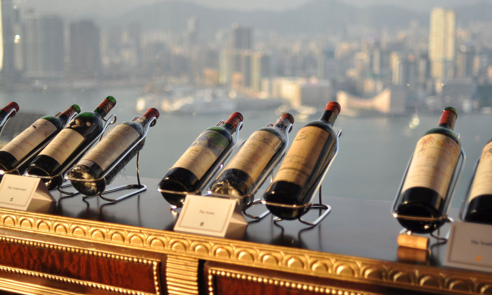 Iconic Wine Dinner At Restaurant Petrus