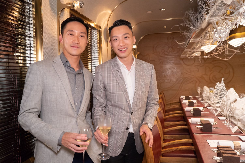 Evan Chow, Davis Chan