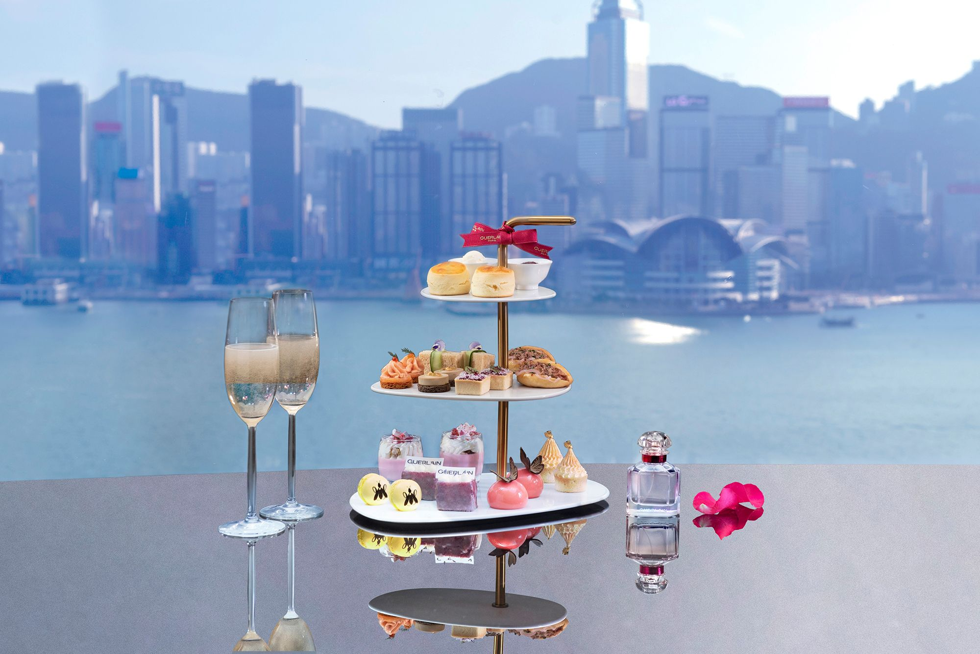 Guerlain Champagne Afternoon Tea At Sky Lounge