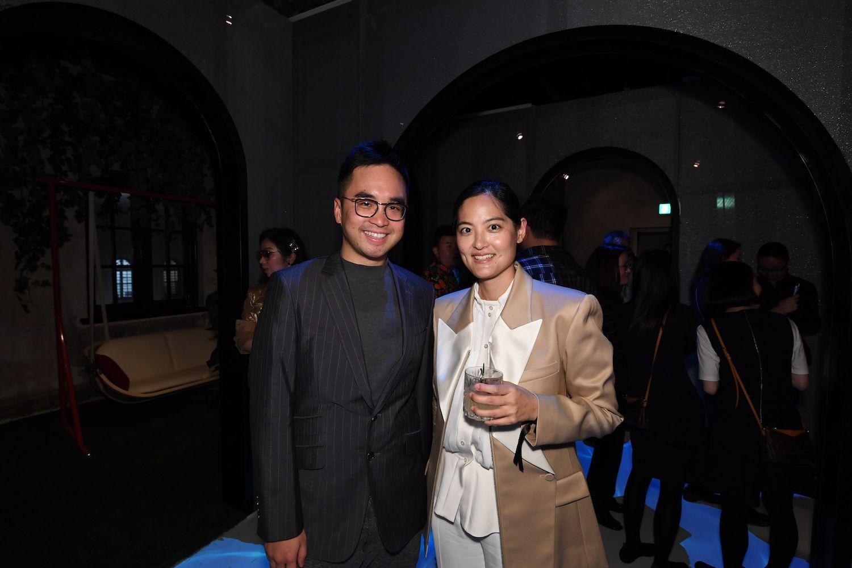 Adrian Cheng, Joyce Wang
